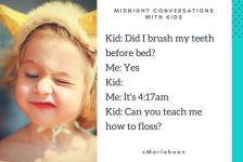 Parents tweet their crazy 3 a.m. conversations with their kids