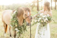 Equestrian Bridal Portraits